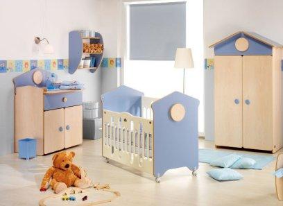 El azul en las habitaciones infantiles - Ideas decoracion habitacion infantil ...